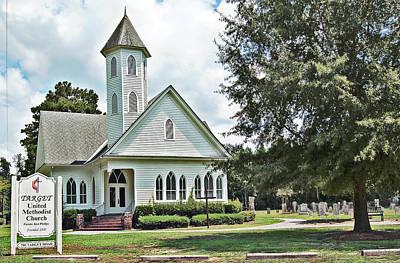 Photograph - Target United Methodist by Linda Brown