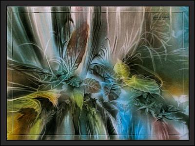 Pastel - Taroleavescape '10  by Glenn Bautista