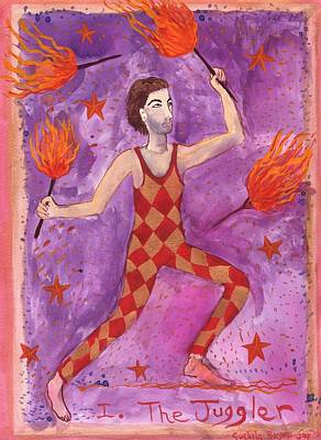 Tarot 1 The Juggler Original