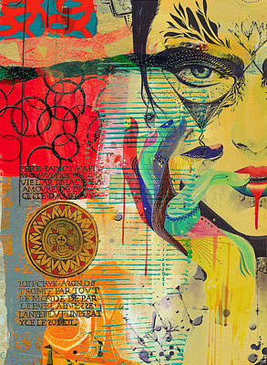 Painting - Tarot Card Abstract 007 by Corporate Art Task Force