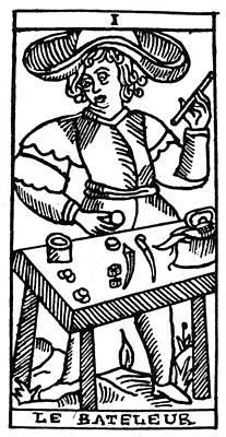 Juggler Painting - Tarot Card The Juggler by Granger