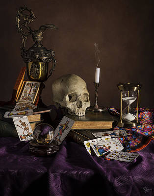 Photograph - Tarot by Endre Balogh
