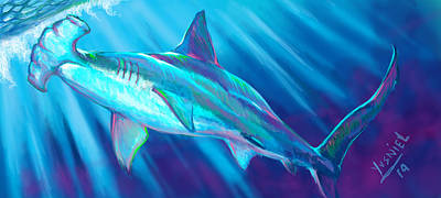 Dolphins Digital Art - Tarpon Season  by Yusniel Santos