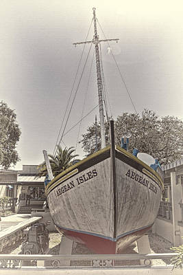 Photograph - Tarpon Springs Sponge Boat by Bill Barber