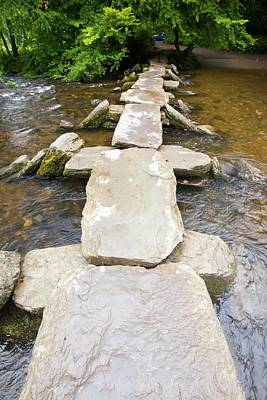 Exmoor Photograph - Tarr Steps An Ancient River Crossing by Ashley Cooper