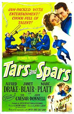 Saxophone Photograph - Tars And Spars, Us Poster, Top Right by Everett