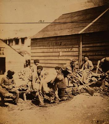 Labourer Drawing - Tartar Labourers, Crimean War, 1853-1856 by Quint Lox