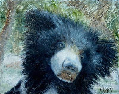 Painting - Taruni Bear by Ann Radley