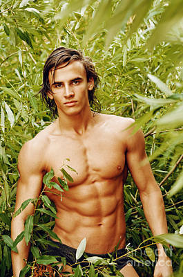 Male Nude Relief Relief - Tarzan by Alexander Annenkov