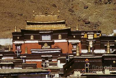 Photograph - Tashilhunpo Monastery - Shigatse Tibet by Craig Lovell