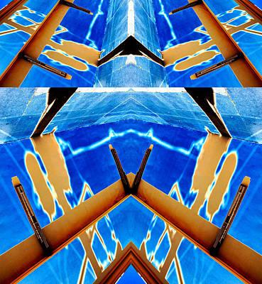 Task Of The Irradiator 2013 Art Print by James Warren