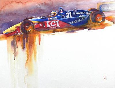 Automobilia Painting - Tasman by Robert Hooper