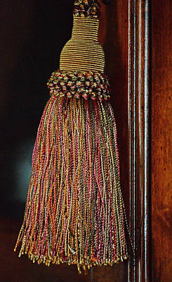 Photograph - Tassel by Cathy Jourdan