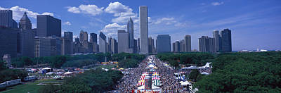 Annual Photograph - Taste Of Chicago Chicago Il by Panoramic Images