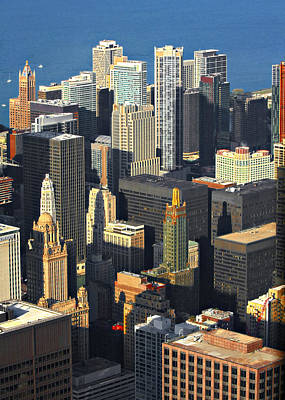 From Photograph - Taste Of Chicago From Above by Christine Till