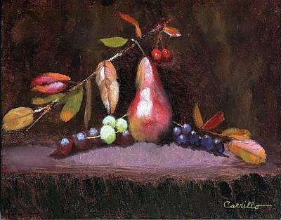 Ruben Carrillo Wall Art - Painting - Taste Of Fall by Ruben Carrillo