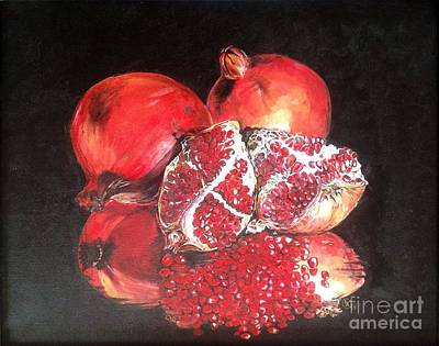 Taste Of Red Art Print