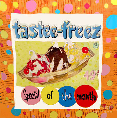 Painting - Tastee Freez by Beth Saffer