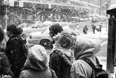 Photograph - Tasteofsnow by Dave Beckerman