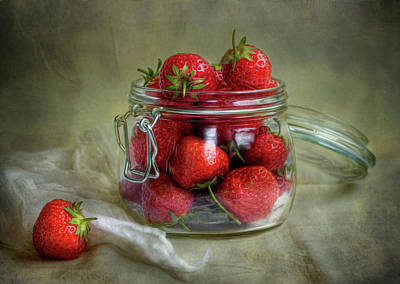 Strawberry Wall Art - Photograph - Tastes Of Summer by Mandy Disher