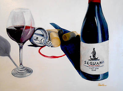 Painting - Tasting by Robert Foss