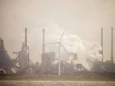 Tata Steel Works Art Print