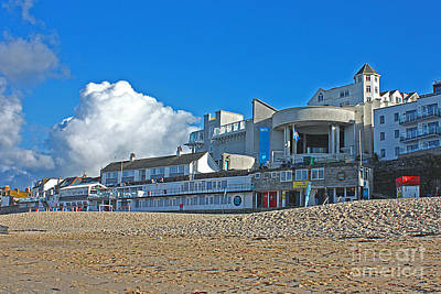 Photograph - Tate Gallery St Ives Cornwall by Terri Waters