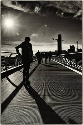 Photograph - Tate Silhouettes by Lenny Carter