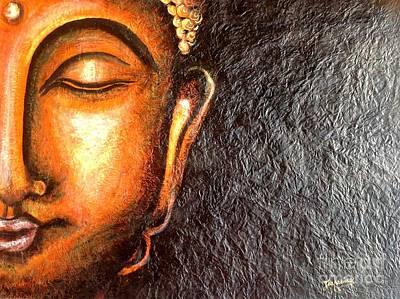 Painting - Tathagatha - Serene Buddha  by Kami