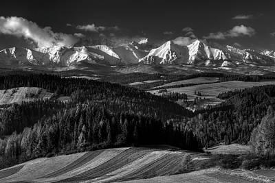 Slovakia Photograph - Tatra Mountains by Krzysztof Mierzejewski