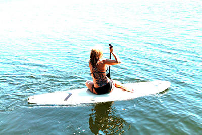 Stand Up Paddle Board Photograph - Tats And Sups by Justin King
