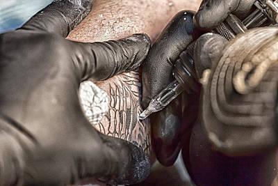 Photograph - Tattoo Fest - 11 by Nicholas Evans