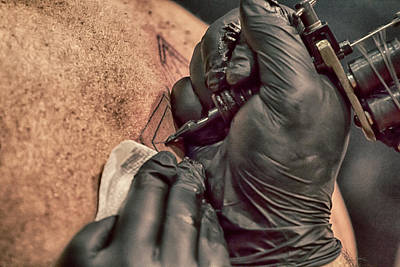Photograph - Tattoo Fest - 2 by Nicholas Evans