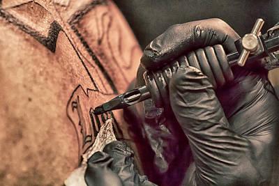 Photograph - Tattoo Fest - 9 by Nicholas Evans