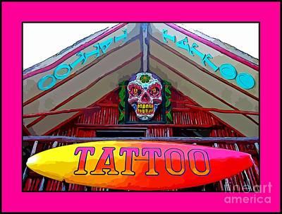 Tattoo Sign Digital Art Print