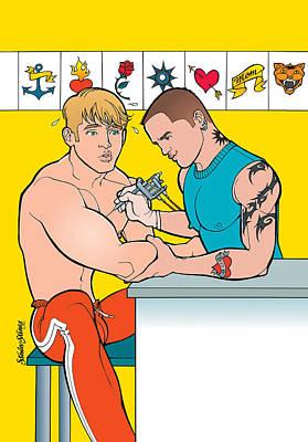 Tatttoo Parlor Art Print