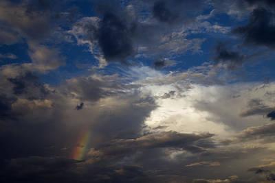 Tatum Sky Rainbow Original by Cathy Franklin