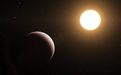 Extrasolar Planet Photograph - Tau Bootis B Exoplanet by L. Calcada/european Southern Observatory