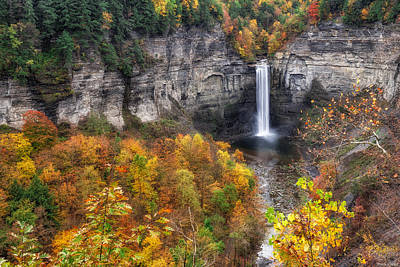 Taughannock Falls Photograph - Taughannock Fall by Mark Papke