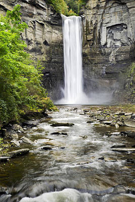 Photograph - Taughannock Falls And Creek by Christina Rollo