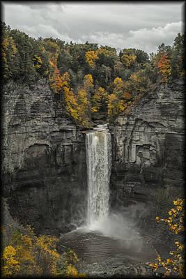 Photograph - Taughannock Falls by Erika Fawcett
