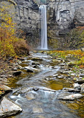 Photograph - Taughannock Falls by Frozen in Time Fine Art Photography