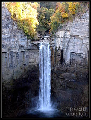 Photograph - Taughannock Falls  by Rose Santuci-Sofranko