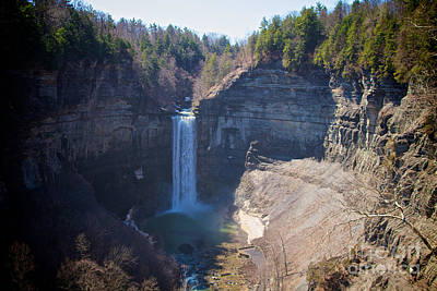 Photograph - Taughannock Falls by William Norton