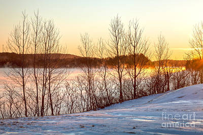 Photograph - Taunton River Dawn by Susan Cole Kelly