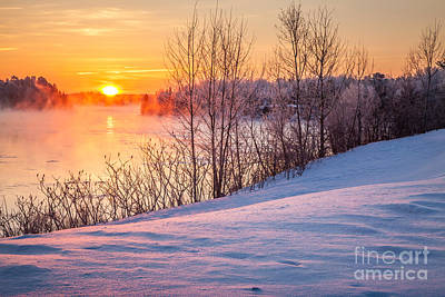 Photograph - Taunton River Sunrise by Susan Cole Kelly