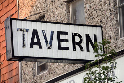 Tavern  - Strsch Art Print by Stephen Host
