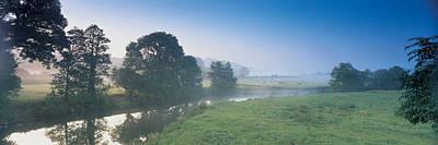 Taw River Near Barnstaple N Devon Art Print by Panoramic Images
