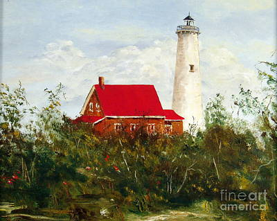 Art Print featuring the painting Tawas by Lee Piper