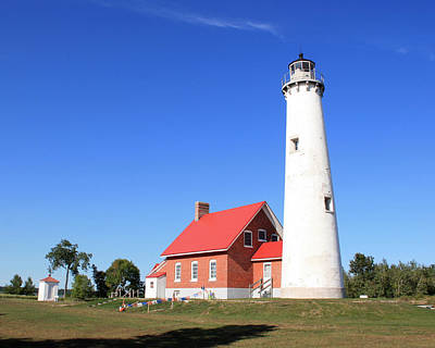 Photograph - Tawas Point Lighthouse by George Jones